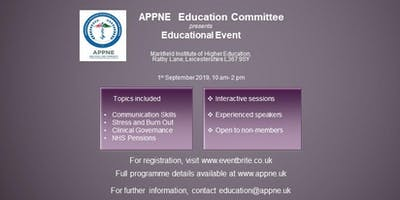 APPNE Educational Event