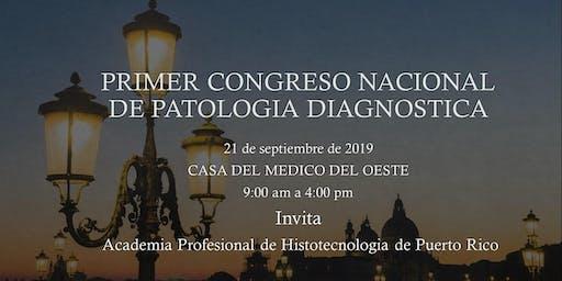 PRIMER CONGRESO DE PATOLOGIA DIAGNOSTICA