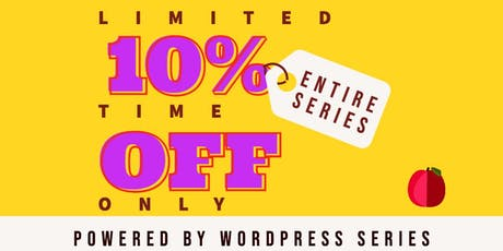 Powered by WordPress: All Access Pass tickets