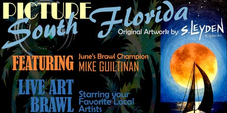 Picture South Florida: Opening Night & Art Brawl  tickets