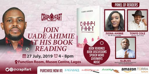 Book Reading With Uade Ahimie