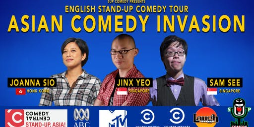 Asian Comedy Invasion - International Comedy Show
