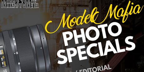 MODEL MAFIA PHOTO SHOOT SPECIALS  tickets