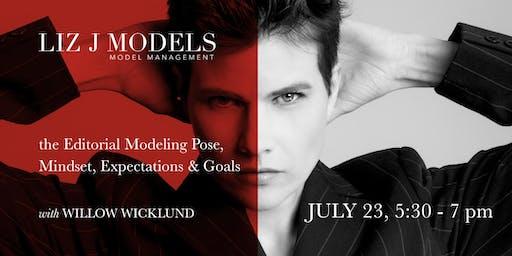 The Modeling Pose  — Mindset, Expectations & Goals