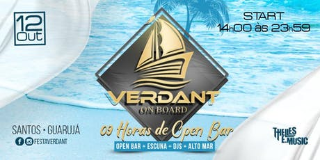 Verdant On Board 2019 ingressos