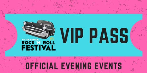 Official Evening Events - 2019 McDonalds Victor Harbor Rock 'N' Roll Festival