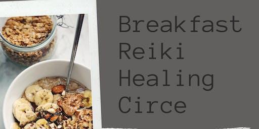 July Breakfast & Reiki Healing Circle