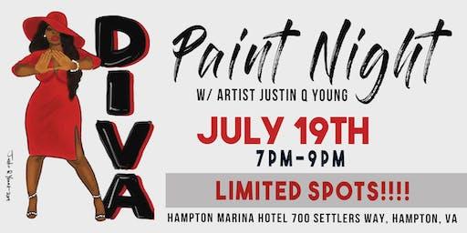 Diva Paint Night