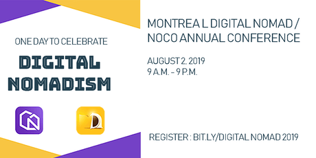 One day to celebrate Digital Nomadism tickets