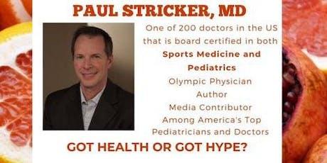 Got Health or got Hype? tickets