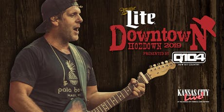 Downtown Hoedown with Billy Currington ingressos