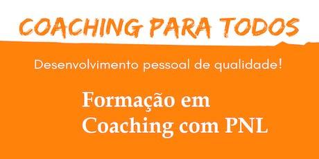 Formação em Coaching com PNL ingressos