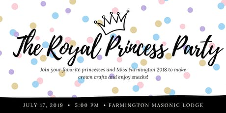 The Royal Princess Party tickets