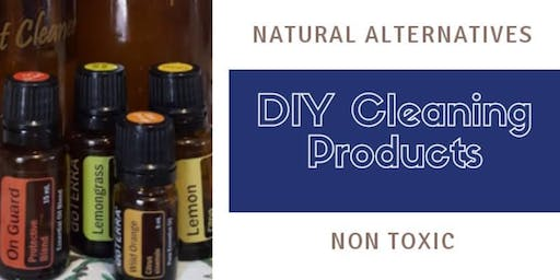 August Low Tox Cleaning Product Make and Take
