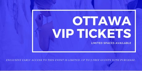Ottawa Pop Up Wedding Dress Sale VIP Early Access tickets