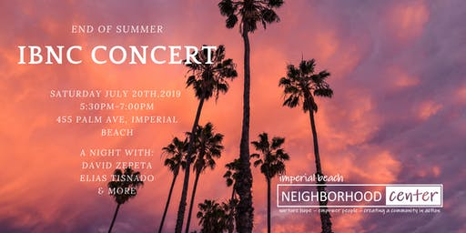IBNC End of Summer Concert