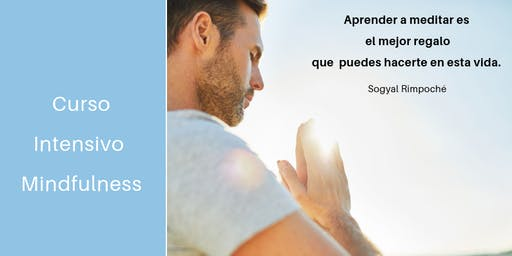 Curso Intensivo Mindfulness 19 y 20 JULIO