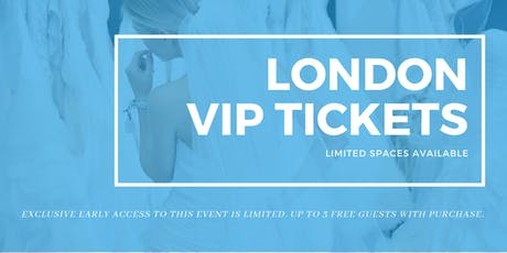 London Pop Up Wedding Dress Sale VIP Early Access tickets
