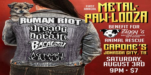 Metal-Paw-Looza Benefit Concert for Ziggy's Animal Rescue