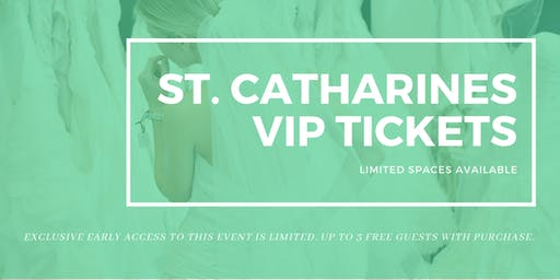 Opportunity Bridal VIP Early Access St. Catharines Pop Up Wedding Dress Sale