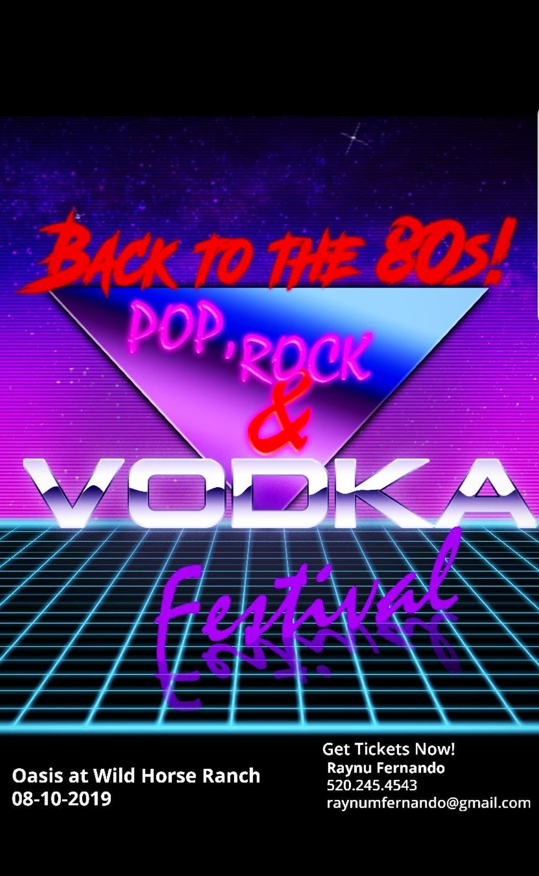 80s Pop Rock & Vodka Festival
