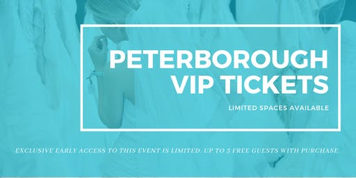Peterborough Pop Up Wedding Dress Sale VIP Early Access