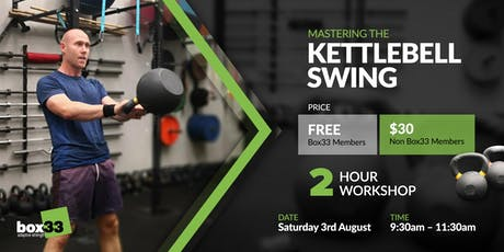Mastering the Kettlebell Swing Workshop tickets