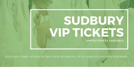 Sudbury Pop Up Wedding Dress Sale VIP Early Access tickets