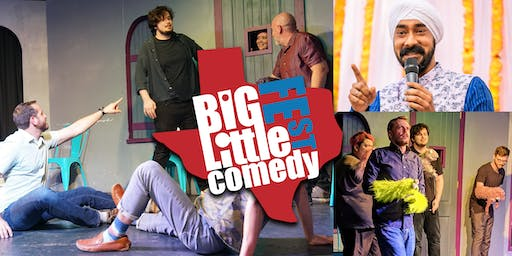 The Big-Little Comedy Fest - Key Party PLUS (Improv/Comedy)