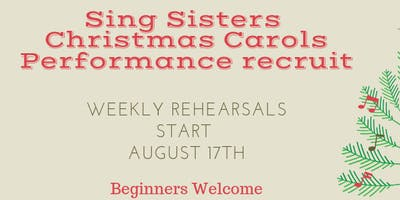 Term 3 - Sing Sisters Weekly Singing Group  - 8 weeks plus 1 performance