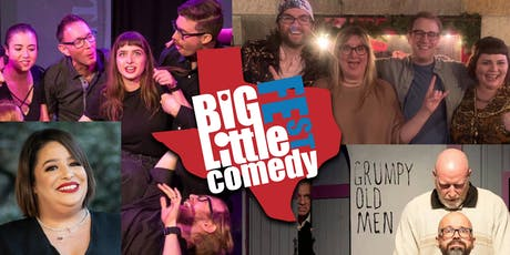 The Big-Little Comedy Fest - Saturday Kickstart (Improv/Standup/Comedy) tickets