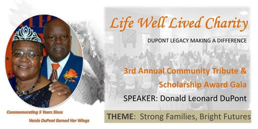 3rd Annual Community Tribute & Scholarship Award Gala