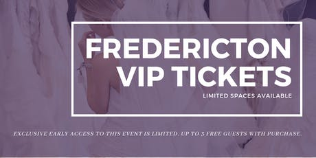 Fredericton Pop Up Wedding Dress Sale VIP Early Access tickets