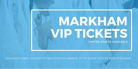 Opportunity Bridal VIP Early Access Markham Pop Up Wedding Dress Sale tickets