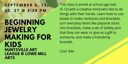 Beginning Jewelry Making for Kids