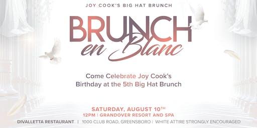 Joy Cook's 5th Big Hat Brunch- Brunch En Blanc