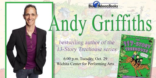 13-Story Treehouse Author Andy Griffiths