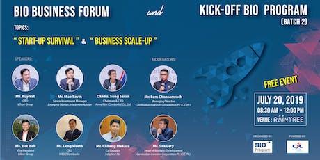 BIO Business Forum &  Kick-Off BIO Program (Batch 2) tickets