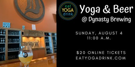Yoga & Beer at Dynasty Brewing tickets