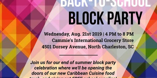 Camme's Back-To-School Block Party