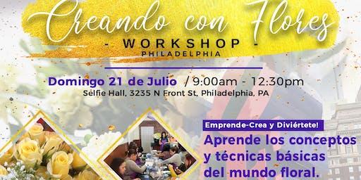 Creando con Flores~Workshop