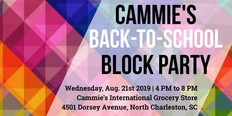 Cammie's Back-To-School Block Party tickets