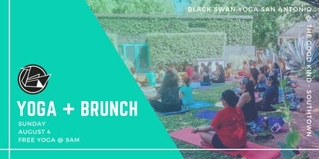 Yoga + Brunch w/ Black Swan Yoga at The Good Kind Southtown tickets