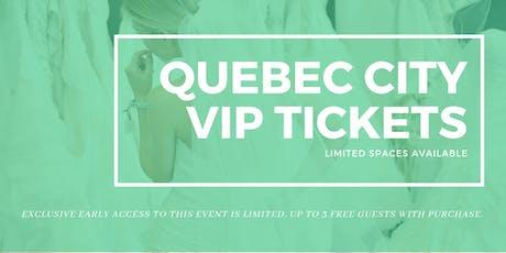 Quebec City Pop Up Wedding Dress Sale VIP Early Access billets