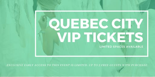 Opportunity Bridal VIP Early Access Quebec City Pop Up Wedding Dress Sale