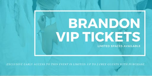 Opportunity Bridal VIP Early Access Brandon Pop Up Wedding Dress Sale