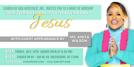 MS. ANITA WILSON GUEST APPEARANCE