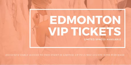 Opportunity Bridal VIP Early Access Edmonton Pop Up Wedding Dress Sale tickets