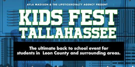 Kids Fest Tally - Back to school drive  tickets