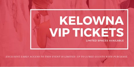 Opportunity Bridal VIP Early Access Kelowna Pop Up Wedding Dress Sale tickets